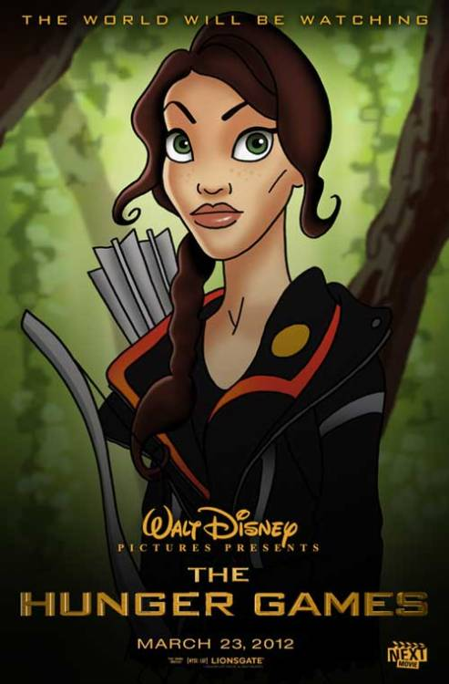 What if Disney Animated 'The Hunger Games'?