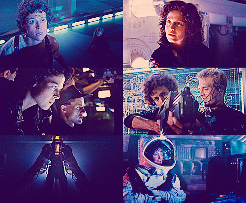 "kenyatta:  Sigourney Weaver as 'Ellen Ripley' in Alien (1979) and Aliens (1986) Watching Aliens on TV right now. This movie holds up so damn well over time. I think people forget how important Aliens was to pop culture. Most sci-fi action movies and games look they way they do because of the art direction and production design of Aliens. (The first movie, Alien, borrowed a lot of its look from 2001: A Space Odyssey.) This was James Cameron's first studio movie after the low budget, independent The Terminator. Aliens proved that Cameron knew what he was doing and set off a fantastic career. The success of Sigourney Weaver's Academy Award-nominated portrayal of Ellen Ripley in Aliens created roles for strong women in Hollywood action movies.  It preceded a cultural shift in America, past second wave feminism and towards a world where we were allowed to celebrate women who rocked. Ripley also became the archetype for James Cameron's later characters of Sarah Connor (Terminator 2), and Max Guevara (Dark Angel).  I'd even argue confidently that Ripley laid the groundwork for all of Joss Whedon's sci-fi asskickers from Buffy to River Tam. Also: Paul Riser's greedy, conniving ""Burke"" was the perfect foil for a 1980's America pissed off at the greed of yuppies who seemed to value profits over humanity. I've read board posts where people describe the dialogue and tropes of Aliens as cliché — the sci-fi movie with the false ending, the badass military Latina soldier, lines like ""game over man, game over"" — but most of this is ignorant of pop culture history. You have to remember that many of these elements became tropes because everybody copied them from Aliens. Also: Alien 3 is still a huge fucking disappointment.  This is the legacy of Aliens. It's a seminal film - though Kenyatta and I seem to disagree on whether Alien or Aliens is a better movie (spoiler alert: I think Alien is - but I also love the claustrophobic feeling of confined filmmaking) and to what degree Alien borrowed from 2001, versus to what degree Aliens borrowed from Alien (I think there's a lot more of Geiger in Alien than there is 2001, and I think Aliens took that Geiger and simply ran with it.) However, Aliens did literally create and then define a genre of film, and then it simultaneously defined the tropes and archetypes of that genre so well that they've almost never deviated. Additionally, it created a new style of female protagonist that was unapologetically awesome, completely modern and unlike anyone else in contemporary media. Also worth reiterating, James Cameron wrote and directed it, so all of this was his defining vision (presumably) from start to finish. So I mostly agree with all of this…with the possible exception of the last line. Now to be fair, I'm also disappointed in Alien 3, but I'd like to expand on why. The film David Fincher intended to shoot was ballsy. It was a throwback to the intimacy and organic claustrophobia of Alien. It treated Aliens like The Empire Strikes Back, and openly recognized that the entire trilogy was actually the story of Ripley and the inevitability of her solitude. She is, without getting into hyperbole, the loneliest woman in the universe. She has seen and survived things that no one else has; this is her strength and her weakness. From that standpoint, Alien 3 attempted to finish her story of being fated to a life of solitude, survival, loss, and never knowing anything more than pyrrhic victories. In fact, fate versus free will (especially within the contexts of class and religion) was a big theme running through the whole film. But where Aliens was a sequel trusted to the singular vision of one writer/director, Alien 3 was now a ""franchise film,"" subject to meddling, studio-mandated script changes, and production infighting. The best description I can think of is that David Fincher set out to make a sequel to Alien - a film that was claustrophobic, thoughtful and lonely - but the powers that be wanted Aliens 2. The film was co-opted and then edited to be…well, awful. The film cobbled together for the Alien Quadrilogy Anthology from the husks of what Fincher shot and what made it into the theatrical version is…well, it's okay. There's a lot of potential, but it's still uneven. It's certainly miles ahead of Alien: Resurrection, which was nigh unwatchable. But I do have a soft spot in my heart for the film nonetheless. I consider it the final leg of Ripley's dramatic arc. Her tragic final act, if you will, and a fitting end to her character. When taken out of the context of any other Alien sequels, it's a recognition of the importance of her character, and it treats her with the respect that she deserves without shying away from the inevitability of her fate. Her final act is a sad - albeit selfless - end and the one time in the three films she's ever, truly been in control of her own fate. She takes back control over her life by ending it in defiance of the Xenomorphs and the corporation that have combined and conspired to haunt her for unknowable years now; and the relief on her face is the last image we have of her life, her journey, and her fate. It's beautiful, really. Flawed beauty, but beauty nonetheless. …Of course, then they made a fourth film."