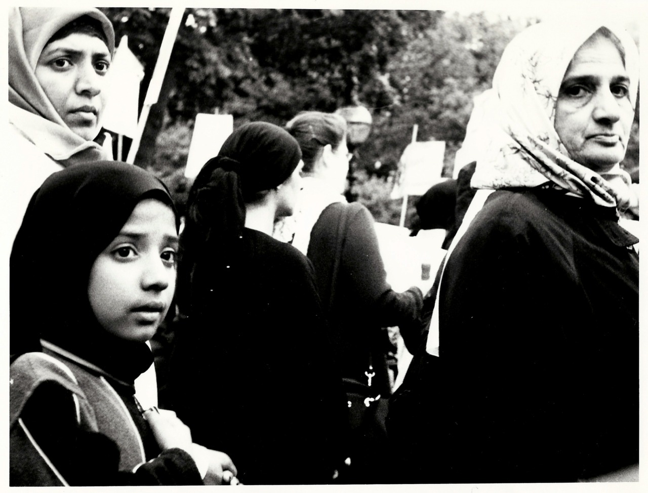 Children at Demonstrations, 2003-2005, London