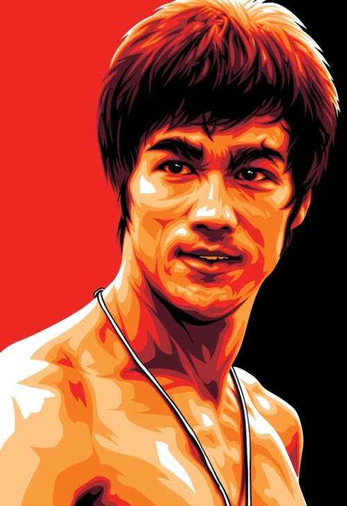 Bruce Lee by Mel Marcelo