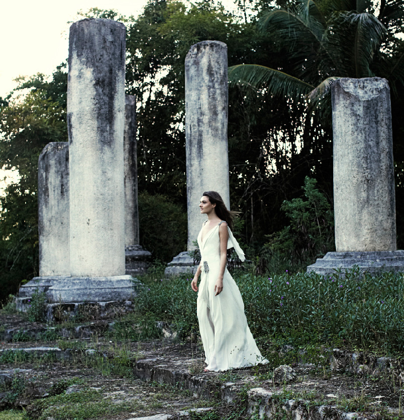 Photographed by Bettina Lewin, Town & Country Weddings SS 2012