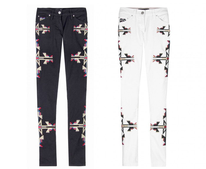 Wanted: These Isabel Marant pants, paired back with Flannel, perfection.