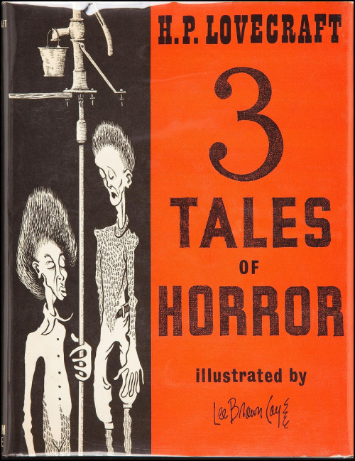 "deadnest:  ""3 Tales of Horror"" Cover art by Lee Brown Coye"