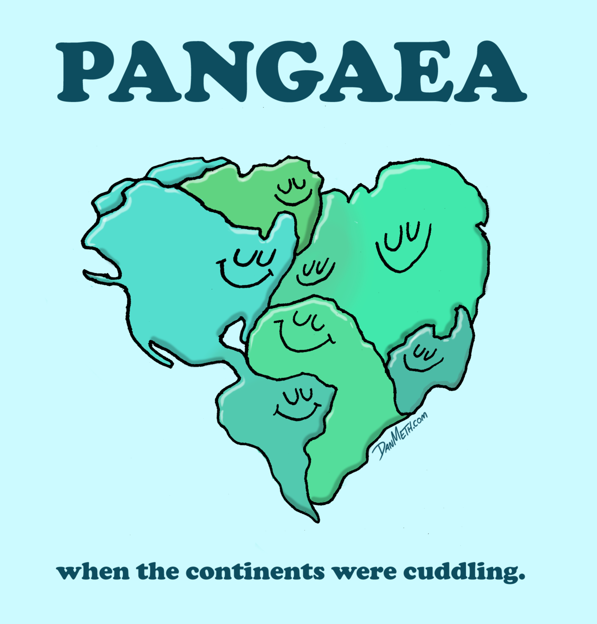 danmeth:  PANGAEA:when the continents were cuddling.