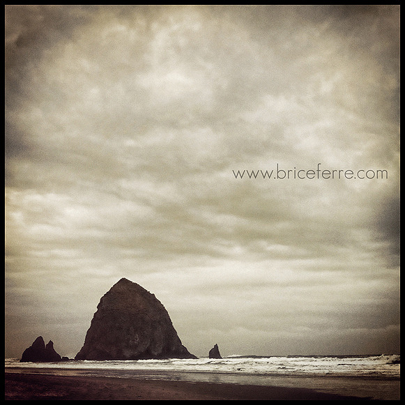 Haystack Rock, Cannon Beach, Oregon. Email Us / Check my Portfolio / Follow me on Facebook / Follow me on Twitter / Follow me on Instagram /