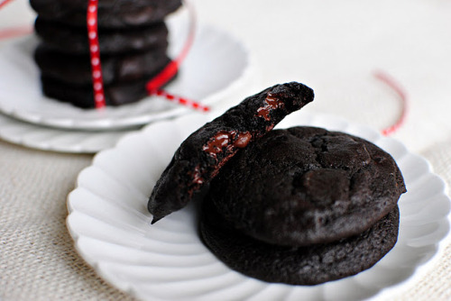 double dark chocolate merlot cookies.