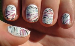 Holographic Zebra Stripes