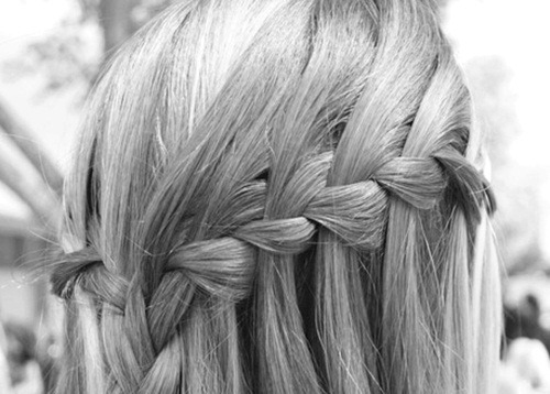 WHAT KIND OF BRAID IS THIS CALLED?!? waterfall?!?!!?