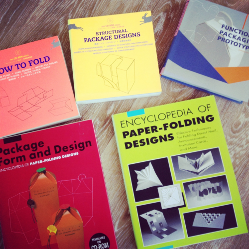 Doing a bit of packaging homework by revisiting our books. More on Inspiration