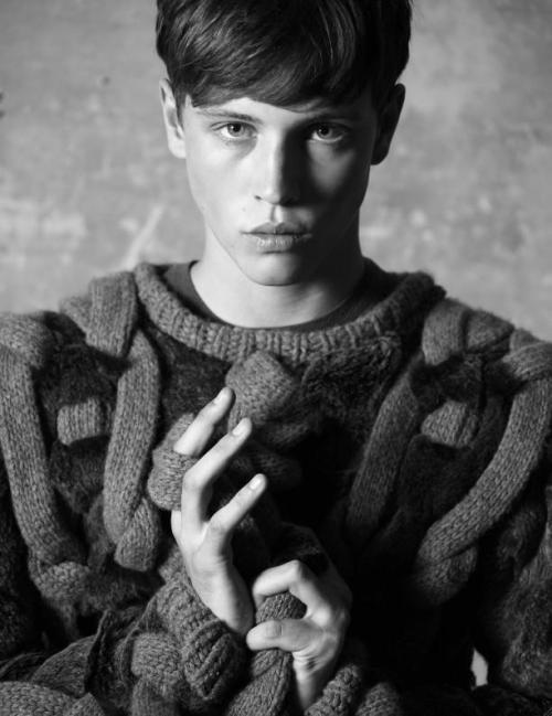 Jake Cooper, Select Model Management. Photo by Servio Cardia for Hush Magazine