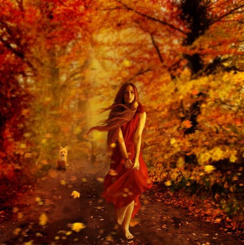 for-redheads:  Autumn by *kokoszkaa