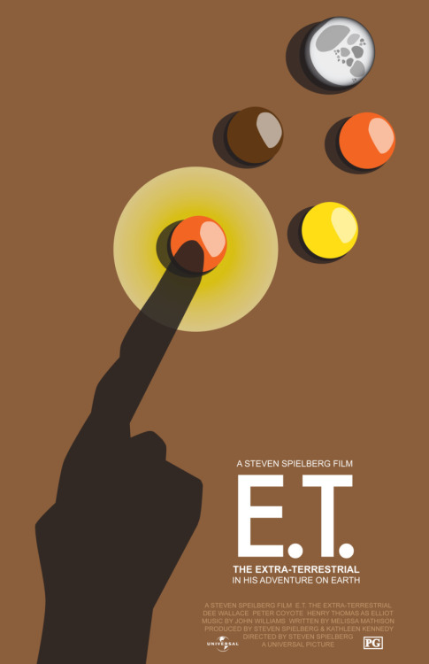 E.T. the Extra-Terrestrial by Ryan Berger