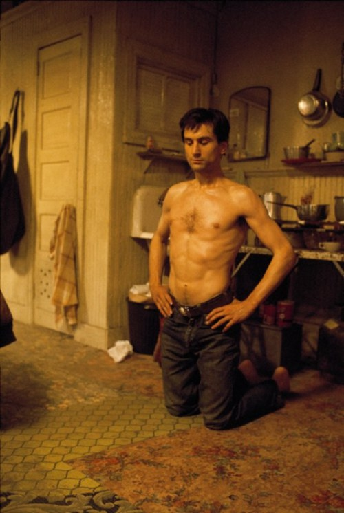 superseventies:  Robert De Niro on the set of 'Taxi Driver', 1976. Photo by Steve Schapiro.
