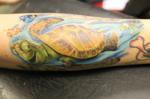 Finding nemo, by James Hastings at skinvasion in England. Please email any feedback!  P.r.unicycles@gmail.com