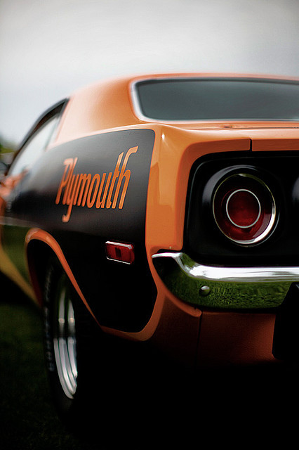 rodandcustomshow:  Plymouth Barracuda
