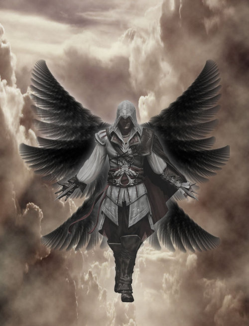 assorted-goodness:  Ezio Angel of Death - by Dan Donaldson