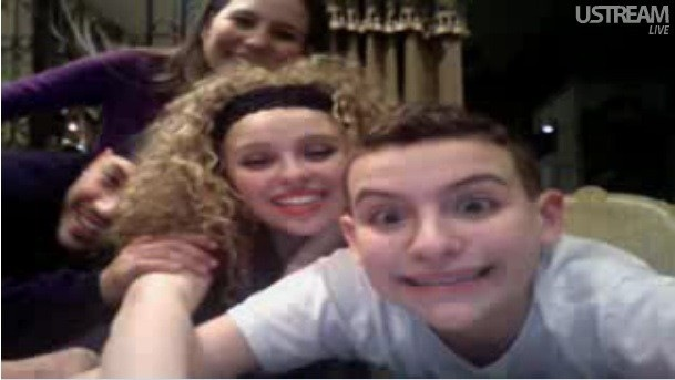 picture from vinny's ustream today.(: