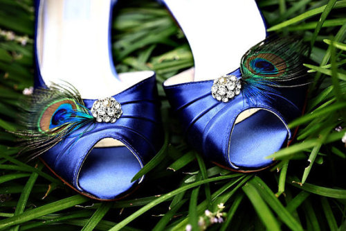 Blue Peacock Shoes  http://www.etsy.com/listing/90132745/blue-peacock-shoes-vintage-pearl