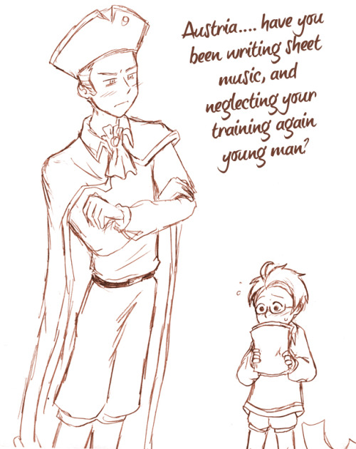 Role Reversal Sketch, Holy Rome and Lil Austria …I think we all know whats going to happen after this ;)