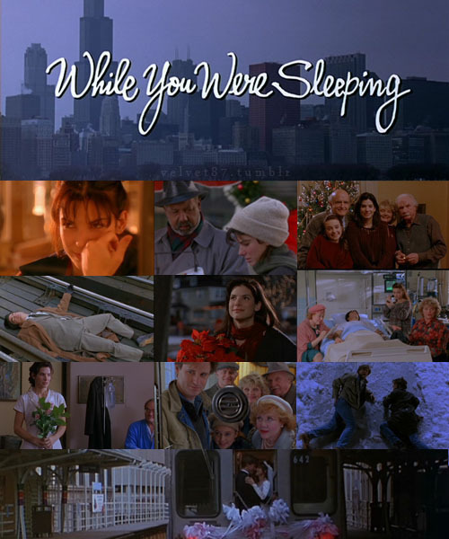 I LOVE WHILE YOU WERE SLEEPING!!!