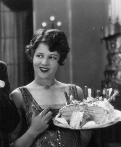 Today is my 24th birthday! Clara Bow is celebrating too ;)