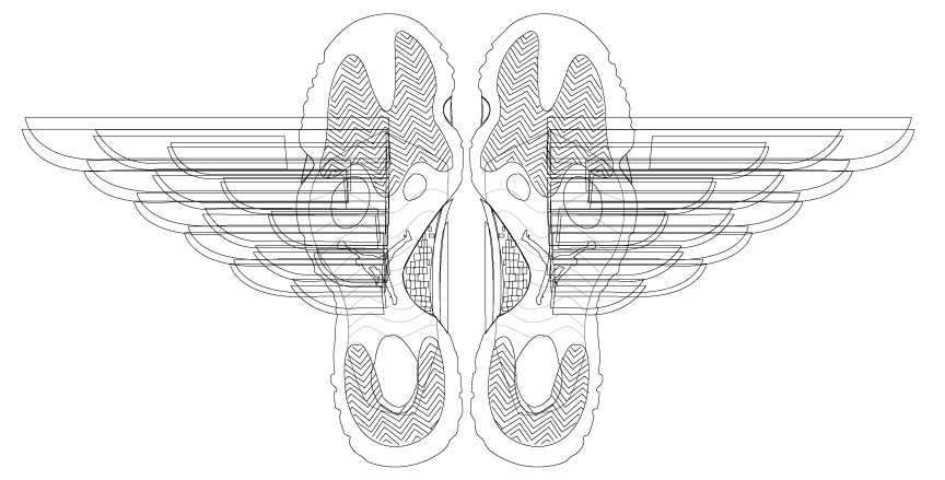 Adobe illustrator linework for a design I'm working on.