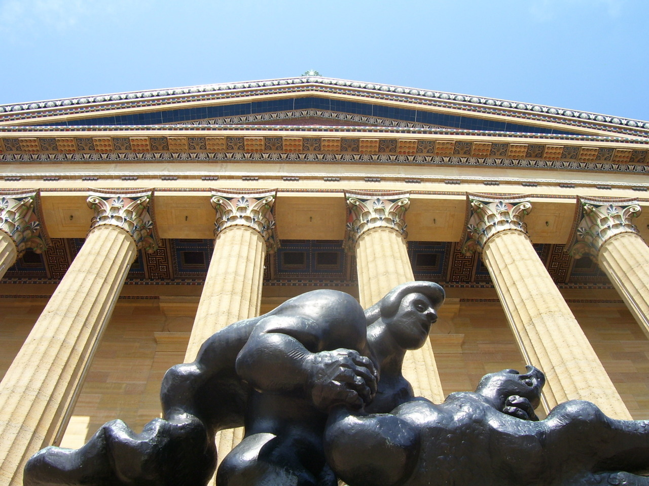 Taken at the Philadelphia Museum of Art in 2009.