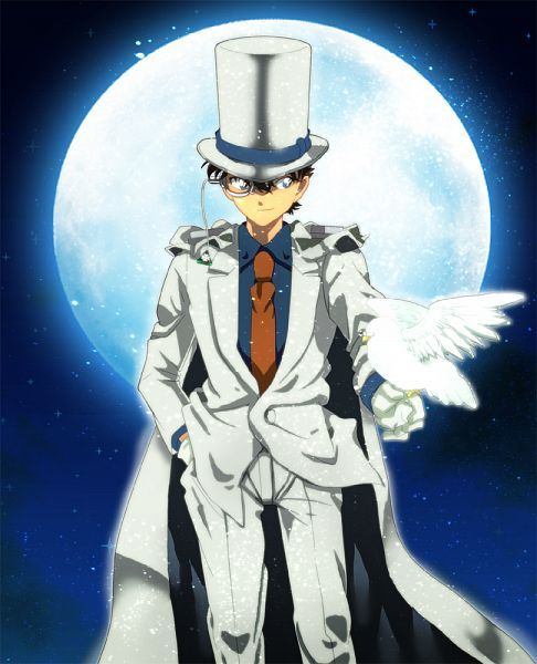 Magician under the moonlight