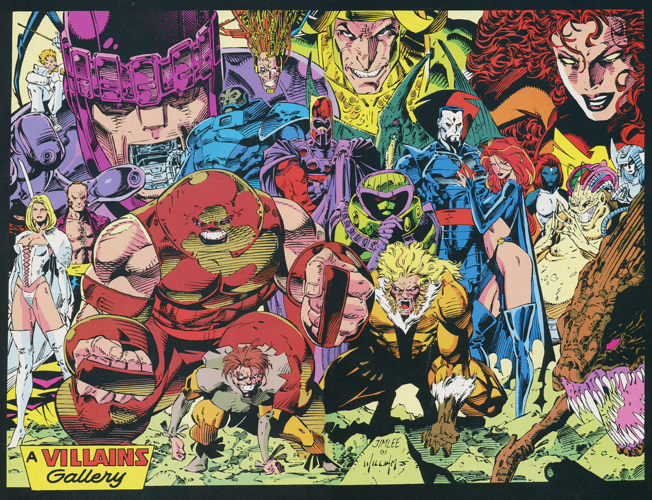 X-men ~ Villains Gallery