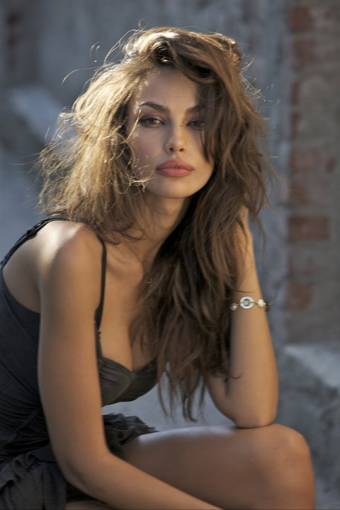 Madalina Ghenea is a model born in Slatina, Romania who launched her career in Italy. She appears in Eros Ramazzoti's Il tempo tra di noi. interview, Official site, directory