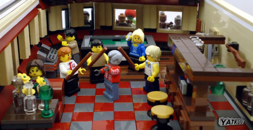 So so cool Shaun of the Dead Lego by Yatkuu