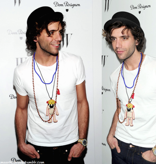 MIKA ~ W Magazine's 69th Annual Golden Globes Award Celebration (13.01.12)
