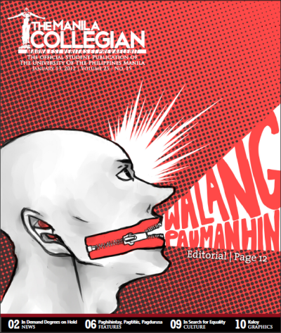 themanilacollegian:  Download, read and reblog The Manila Collegian's latest issue! http://themanilacollegian.deviantart.com/art/2K4-AY1112-279271068
