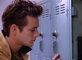 Reason for sexy bad boy brooding #375924:: Forgetting a locker combination.