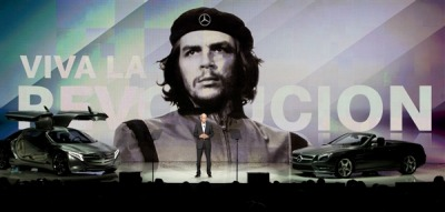 orioleorgans:  dreamstates:  Mercedes apologizes for using Che Guevara image ahahahaha   when did this happen?!?  Wow. Seriously, if ghosts could kill people….