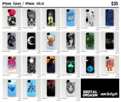iPhone Cases / iPhone (4S, 4) at Society6 Just $35.00 Grab it now! Buy here : http://society6.com/digitalorgasm/cases