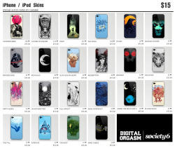 iPhone  / iPod Skins at Society6 Just $15.00 Grab it now! Buy here : http://society6.com/digitalorgasm/phone-skins?page=1