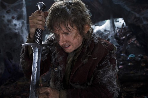 Martin Freeman stars as Bilbo Baggins in Peter Jackson's The Hobbit: An Unexpected Journey, arriving in theaters this December.