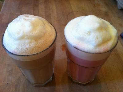 Our famous tea lattes