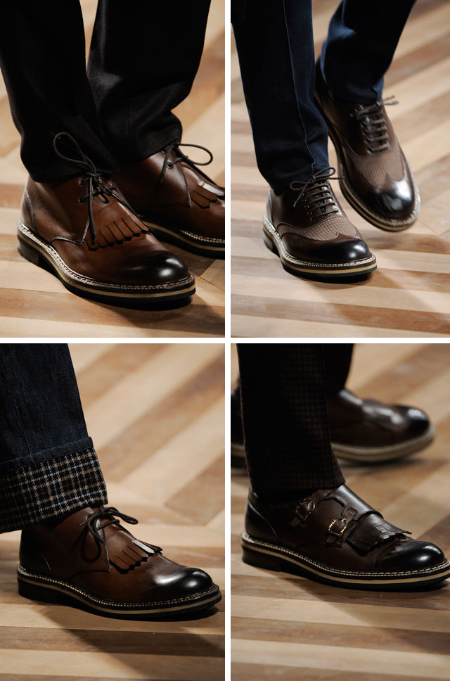 gqfashion:  Ermenegildo Zegna Steps it Up Get a closer look at the Ermenegildo Zegna Fall 2012 men's collection from Milan at GQ.com.