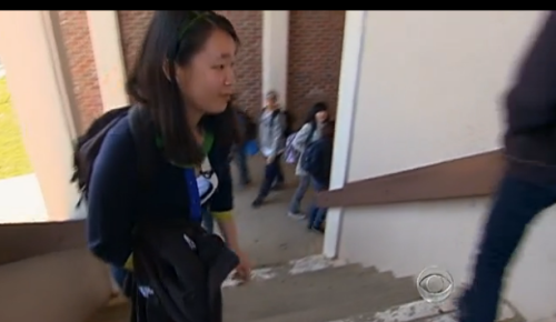 sharpestrose:  producermatthew:  Cupertino high school student Angela Zhang may know the cure for cancer: As a freshman, she started reading doctoral-level papers on biological engineering. By her sophomore year in high school, she managed to convince Stanford University to let her use their laboratories, and by junior year, she began doing her own research that led her to develop a recipe that boggles even her chemistry teacher. Zhang's recipe won her a $100,000 award at a national science competition sponsored by Siemens. Her method of curing cancer by aiming an infrared light at mutated cells killed cancer in mice; it will be a few more years before it can be determined if the method works in humans. Nevertheless, Zhang's three years of research is considered a breakthrough. [CBS News]  A name to know and quote the next time you head some fuckdouche start slagging off teenage girls.