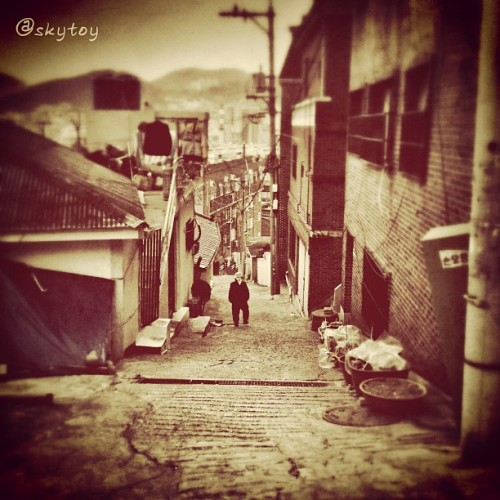 #korea #busan #street #city #4s #town (Taken with instagram)
