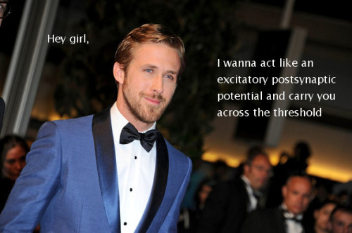 Anything that combines nerdy science and Ryan Gosling is a-ok in my book.