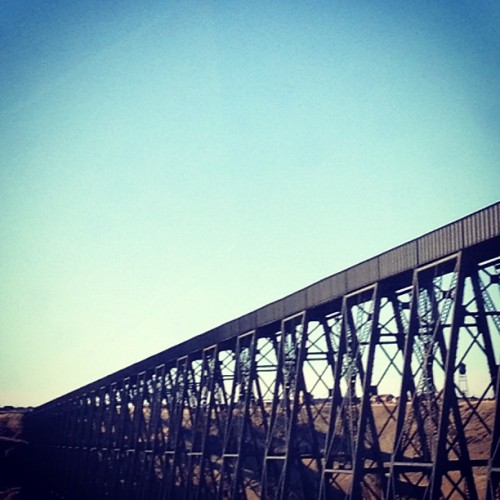 theywillseeuswaving:  High Level Bridge, Lethbridge, Alberta