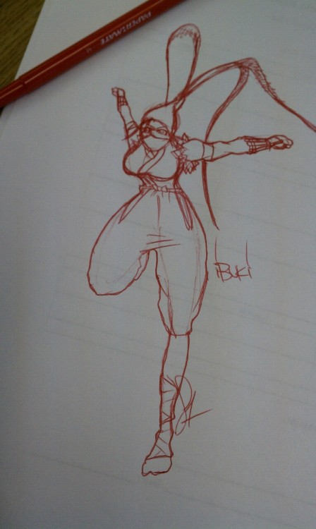 Ibuki speed sketch