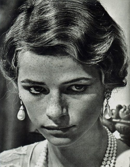 wetbehindthears:  Charlotte Rampling in Luchino Visconti's The Damned.