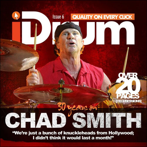 New Chad Smith video interview with iDrum Interactive MagazineChad's drum tech also gives us a closer look at his custom drum kit.Read more…
