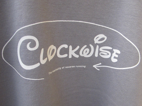 """CLOCKWISE – the mentality of reverse running"""