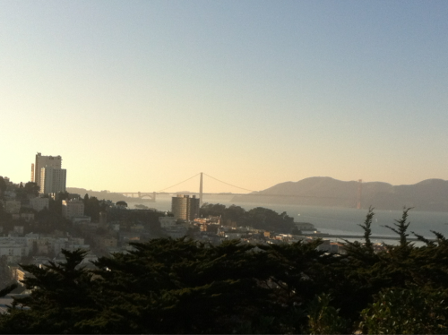 Today we're exploring San Francisco and got our first glimpse of the Golden Gate Bridge. Did you know that Lehigh's McClintic and Marshall dorms, more commonly known as M&M, are named for 1888 graduates Howard McClintic and Charles Marshall, who built the Golden Gate Bridge?