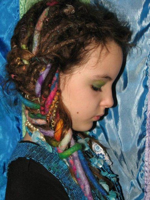 iix3starscapex3:  Ella LaRose her little girl with dreads